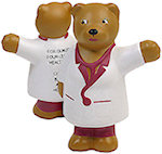 Nurse Bear Stress Balls